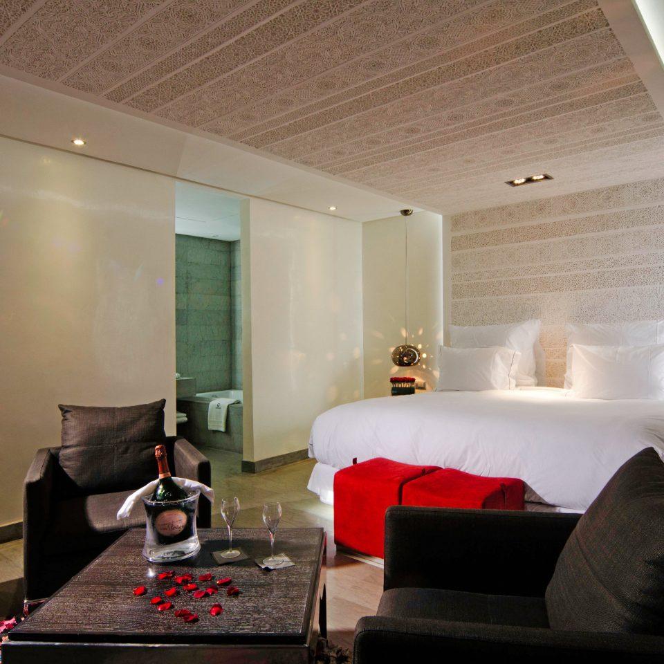 Bath Bedroom Modern Resort sofa property living room house home Suite