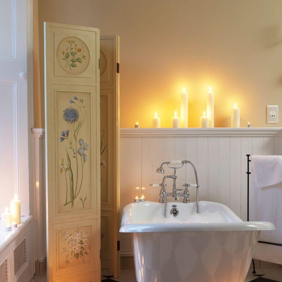 Bath Bedroom Romance Romantic bathroom home bathtub lighting plumbing fixture light sink flooring