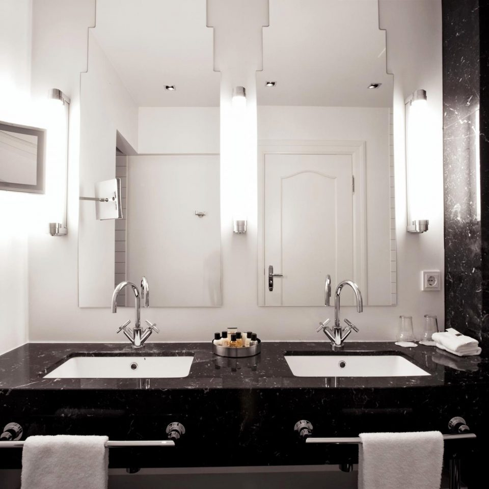 Bath Boutique Boutique Hotels Hotels Iceland Modern Reykjavík bathroom white mirror house sink home lighting plumbing fixture toilet