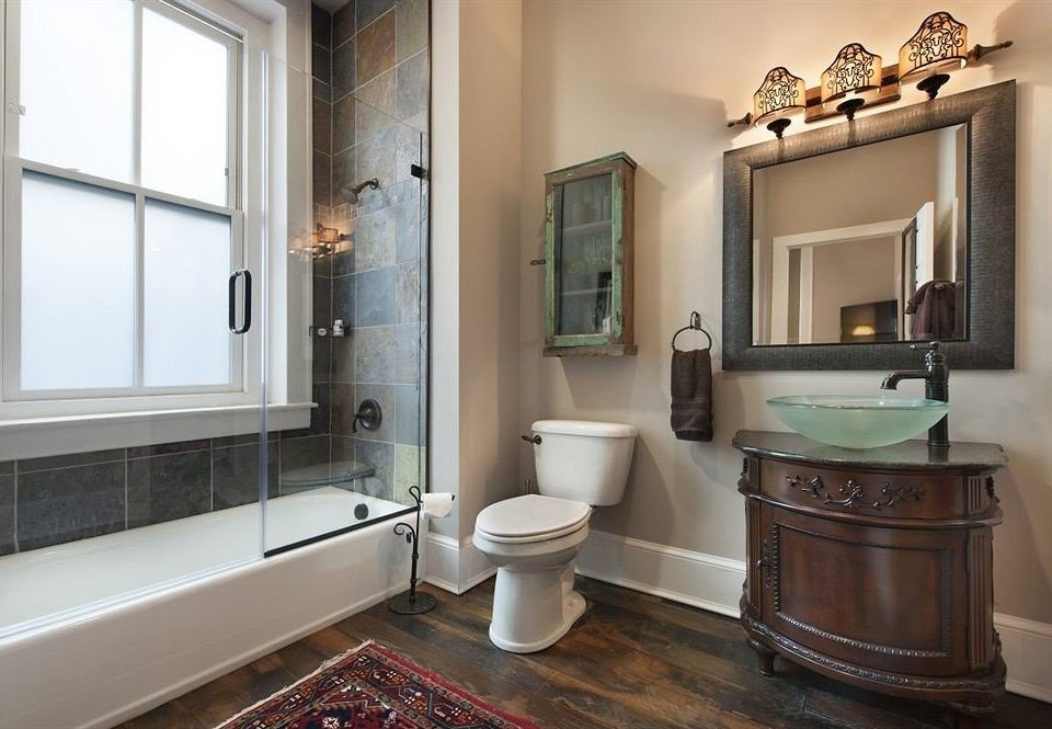 Bath Boutique City bathroom property home sink hardwood cuisine classique cabinetry cottage flooring
