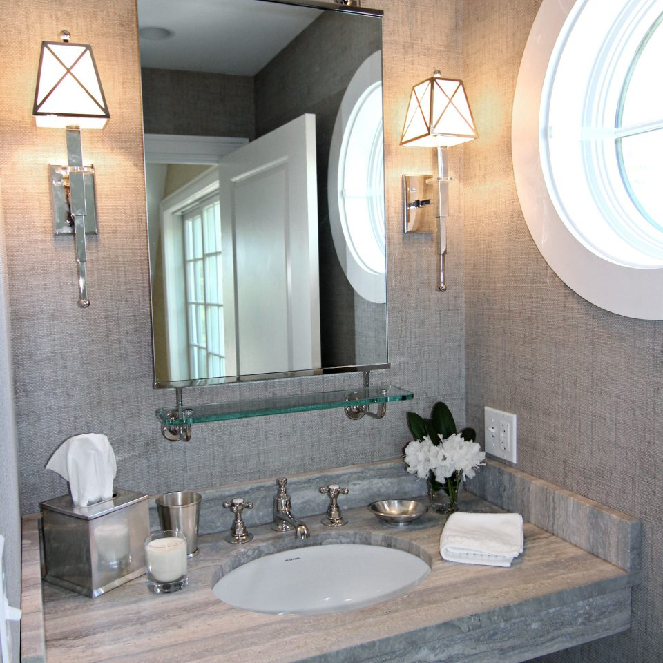 Bath Boutique Inn Romance Romantic Waterfront bathroom sink mirror property home plumbing fixture toilet living room double stone tile tiled tan