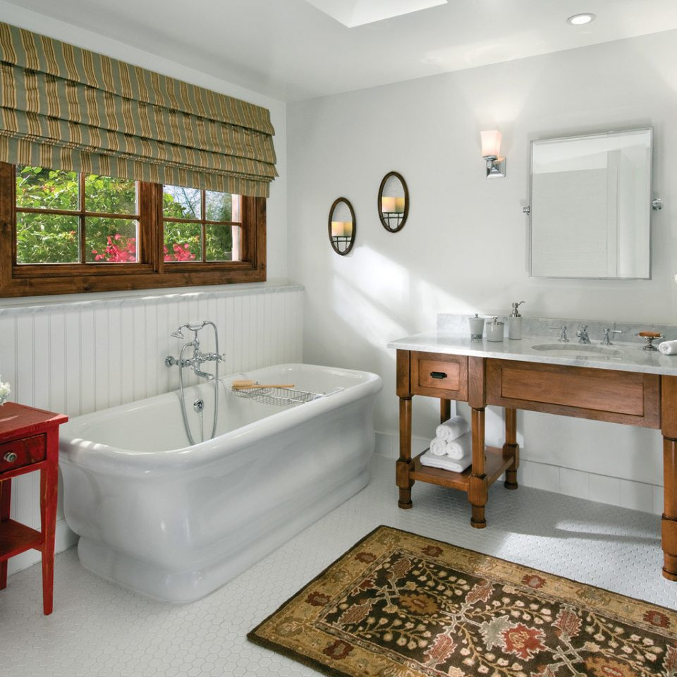 Bath Boutique Inn Romance bathroom property home cottage flooring cabinetry tub