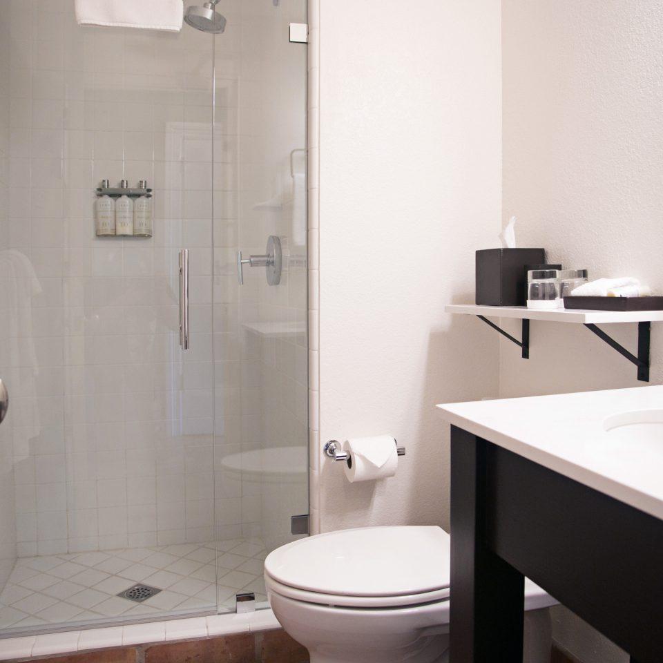 Bath Boutique Modern bathroom mirror sink property toilet plumbing fixture white bidet