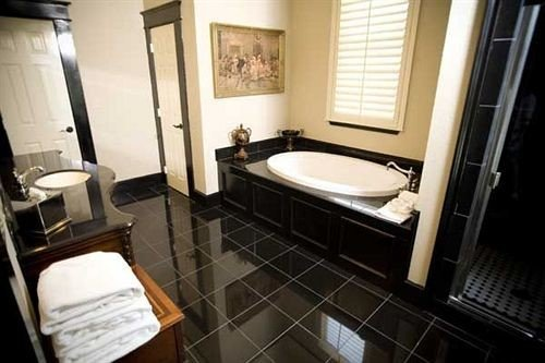 Bath Boutique bathroom property Suite sink home cottage tile tub tiled bathtub