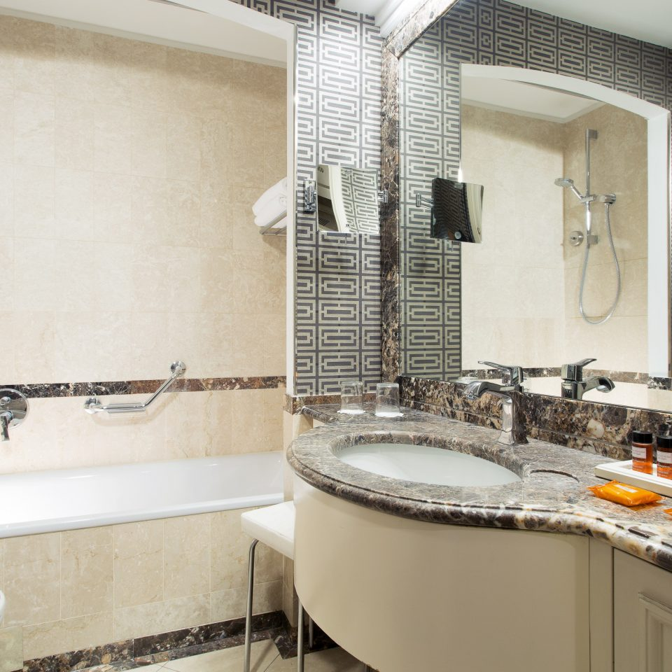 Bath Budget City bathroom sink property toilet home counter cottage flooring countertop tub tile bathtub tiled