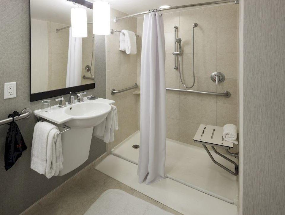 Bath Business Family bathroom property sink plumbing fixture white public toilet toilet