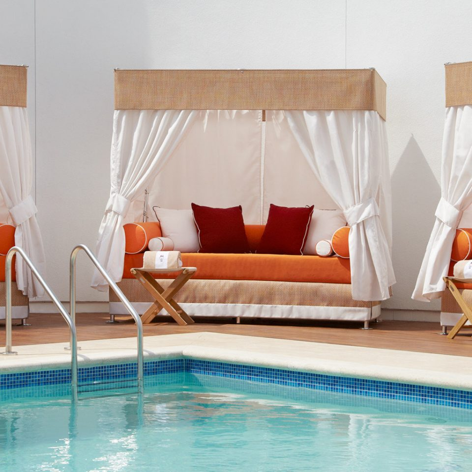 Business Lounge Luxury swimming pool curtain Suite bathtub Bath