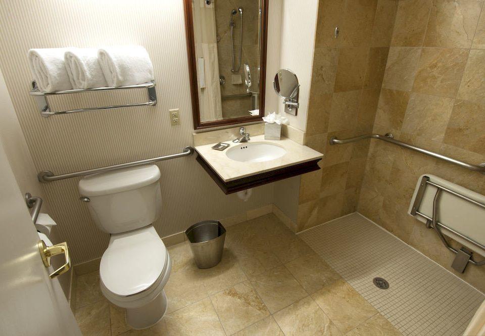 Bath City Classic bathroom toilet property sink plumbing fixture bidet Suite public toilet cottage tile rack tiled trash