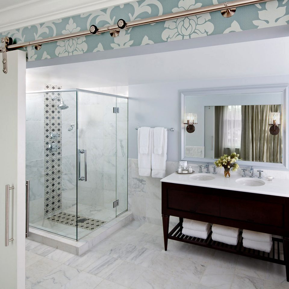 Bath City Modern property house bathroom white home cottage cabinetry
