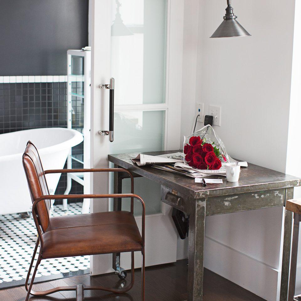 Bath City Modern chair home living room metal dining table