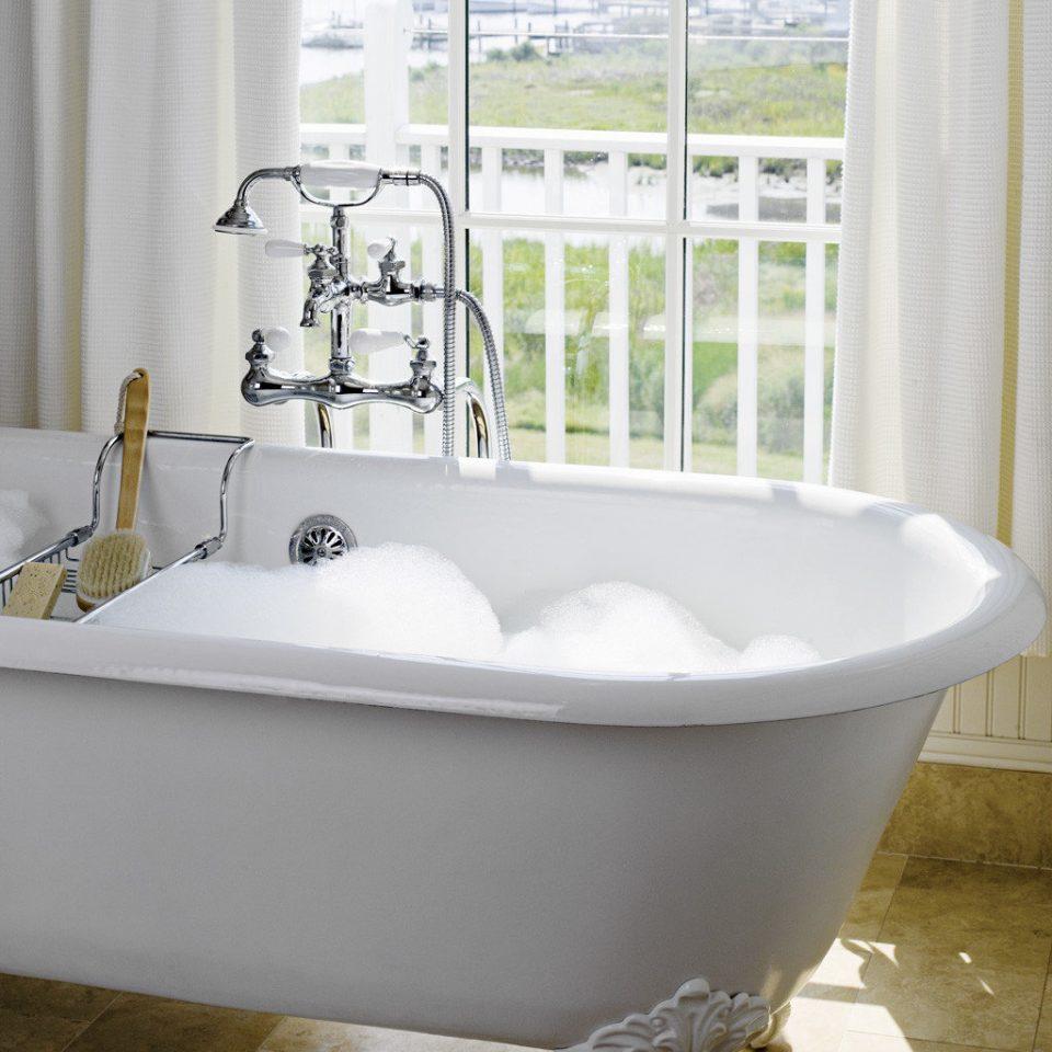 Bath Classic Elegant Historic Inn Scenic views vessel bathtub bathroom plumbing fixture bidet sink white swimming pool flooring tub