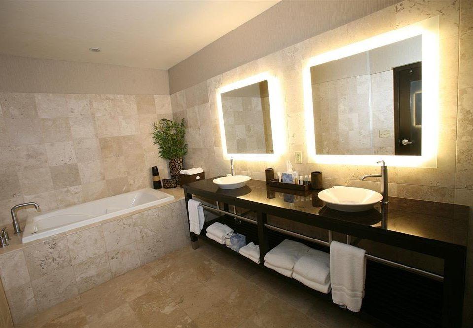 Bath Classic Elegant bathroom sink mirror property home vanity Suite Modern stone tub