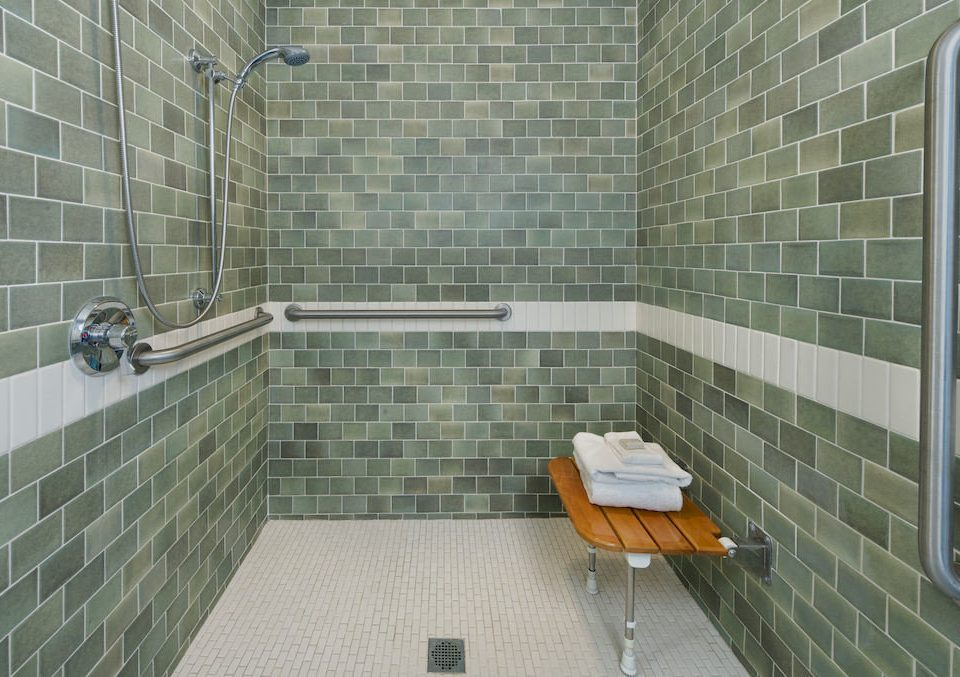 Bath Classic Family bathroom property tile flooring plumbing fixture daylighting tiled public