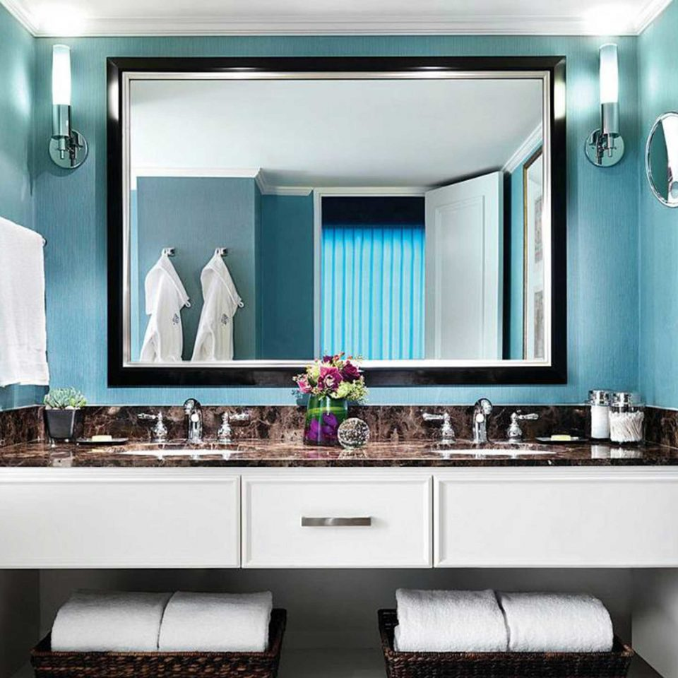 Bath Classic Hotels Luxury Resort bathroom mirror property sink Kitchen home cabinetry living room