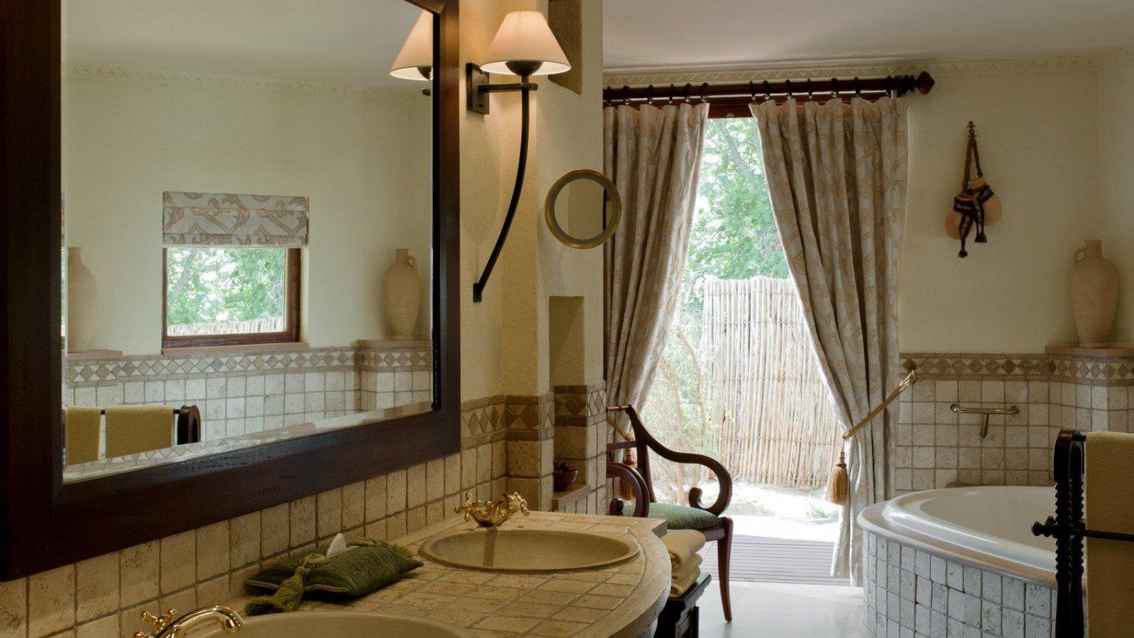Dubai Hotels Luxury Travel Middle East bathroom property home window treatment curtain textile decor window valance tub Bath tile bathtub tiled