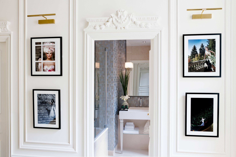 Bath Elegant Luxury Modern Suite gallery scene home picture frame living room door sash window painted painting