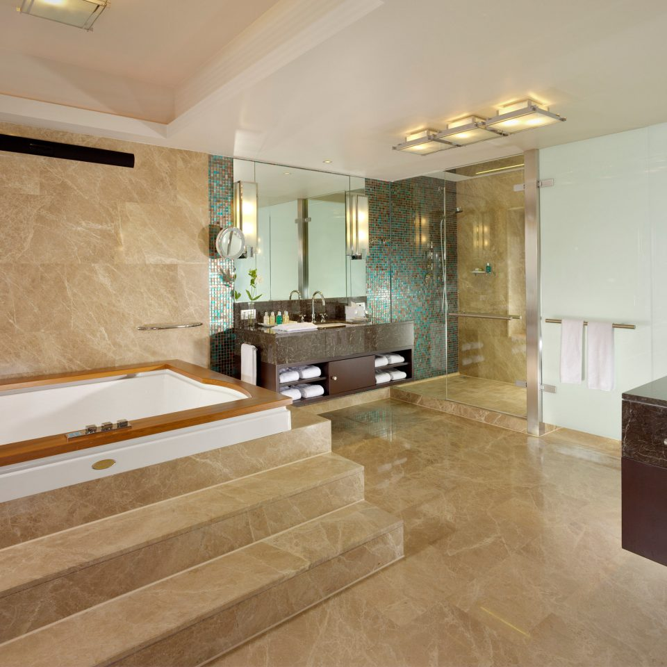 Bath Elegant Luxury property building bathroom flooring hardwood home Suite wood flooring countertop mansion