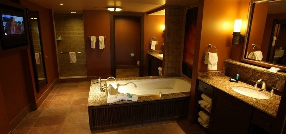 Bath Family Resort bathroom property sink Suite tile tub