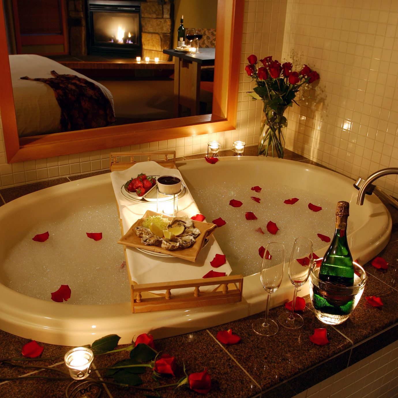 romantic bathtub pics - HD1380×1380