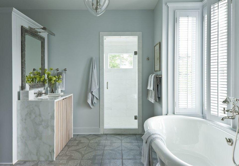 Bath Inn bathroom property sink white home tub plumbing fixture cottage bathtub