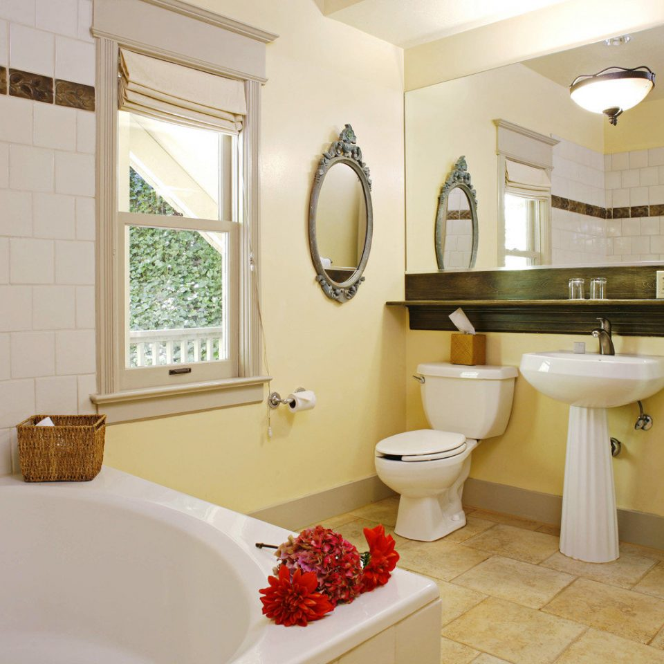 Bath Inn Rustic bathroom property mirror sink home cottage Suite tub toilet bathtub