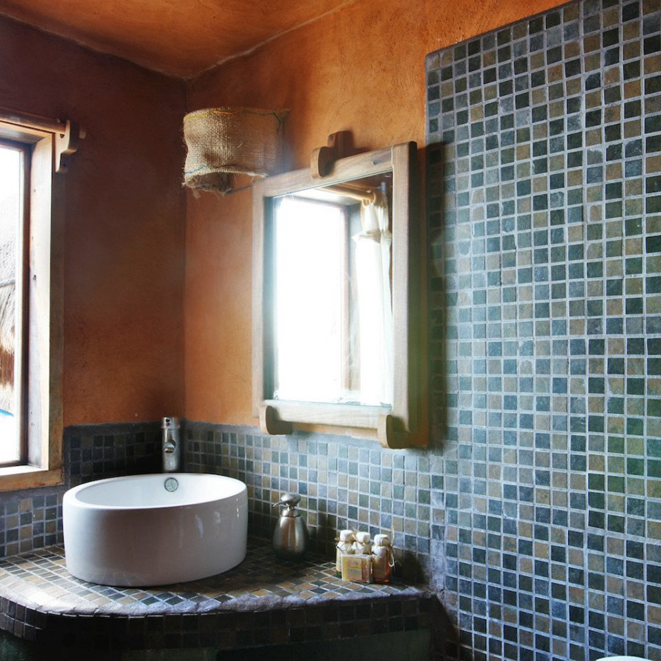 Bath Island bathroom property house home sink cottage tiled tub tile bathtub