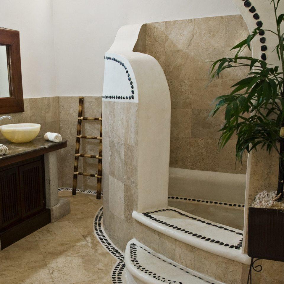 Bath Island Luxury property bathroom home plant flooring cottage Suite