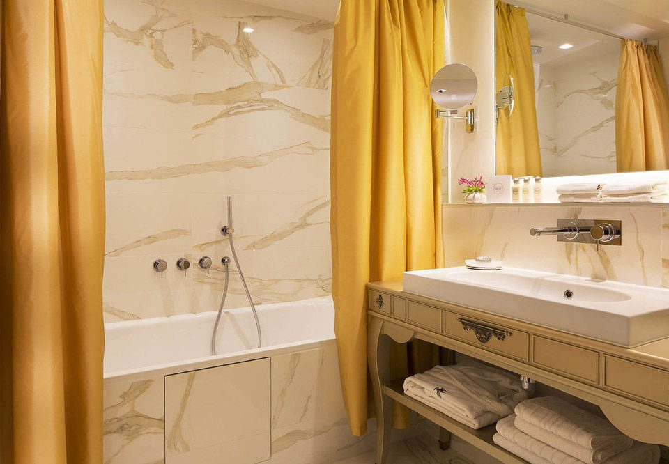 bathroom sink curtain home cottage cabinetry Kitchen tub bathtub Bath