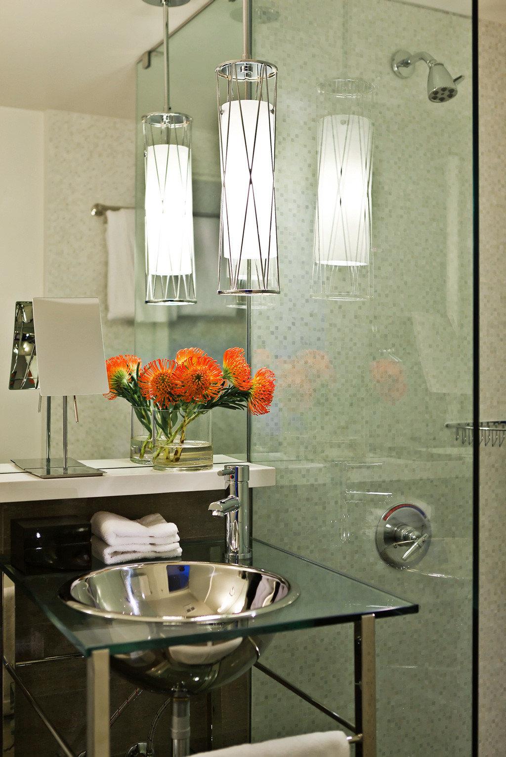 Bath Modern Resort Kitchen lighting home cabinetry countertop sink bathroom