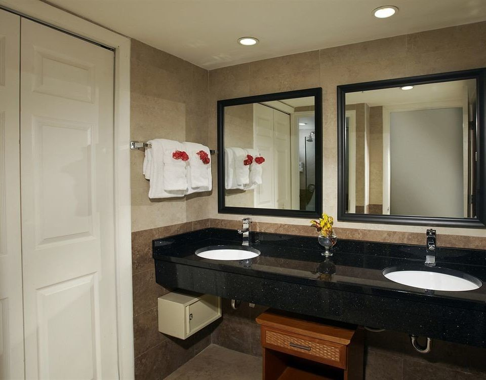 Bath bathroom sink mirror property home cabinetry countertop Kitchen counter Suite
