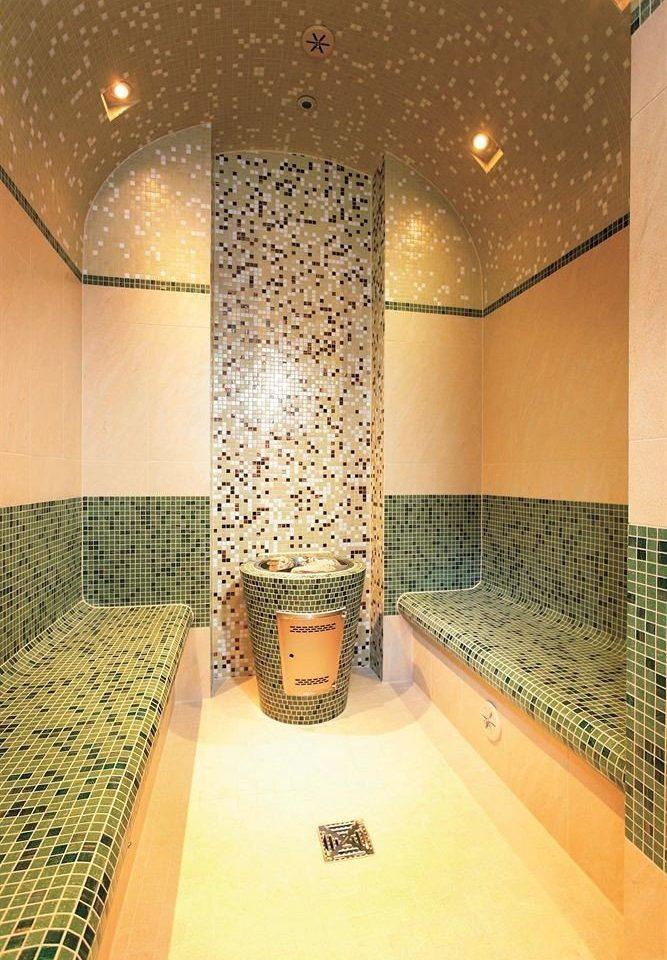 bathroom Lobby flooring lighting swimming pool tiled tub tile Bath