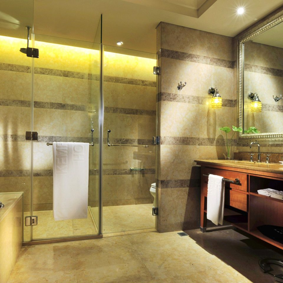 Bath Luxury Modern property lighting sink counter