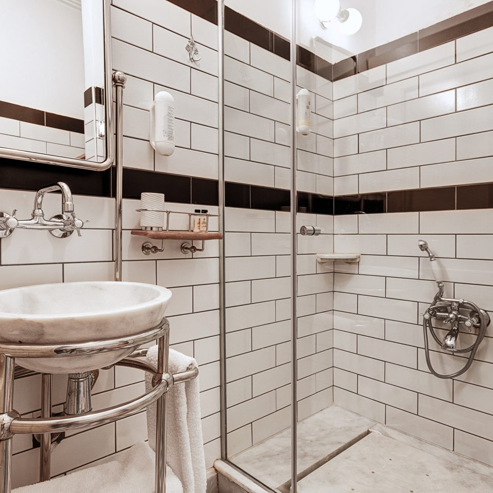 Bath Luxury Modern Rustic bathroom tile plumbing fixture flooring tiled