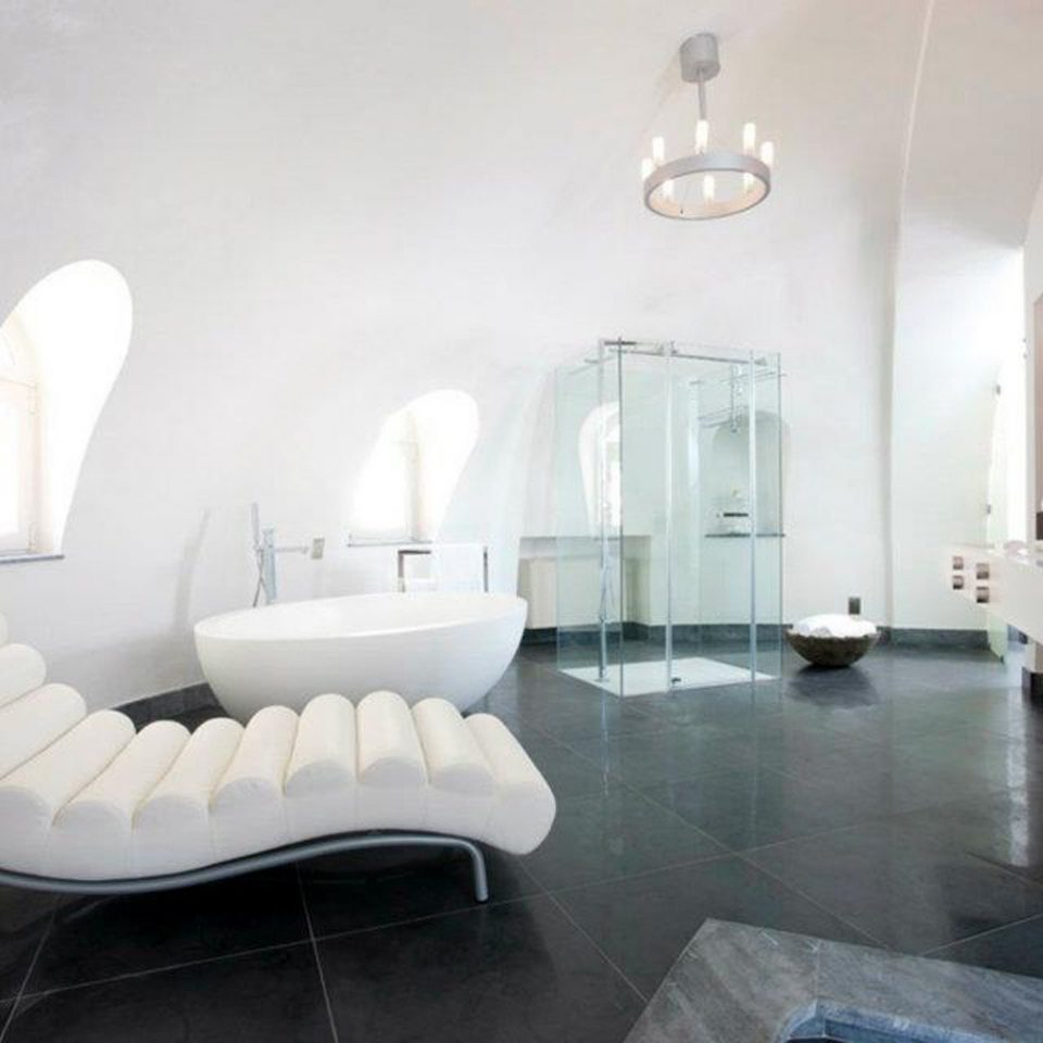 Bath Luxury Modern property building Suite white waiting room living room