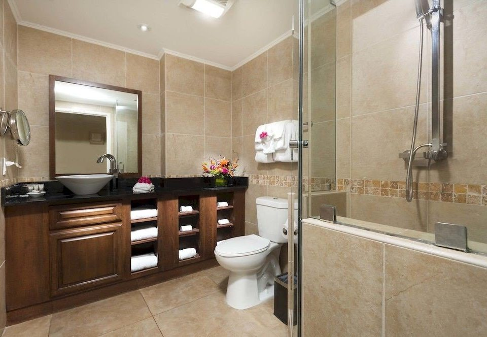Bath Luxury Resort Romantic bathroom property sink home cabinetry cottage Suite flooring countertop