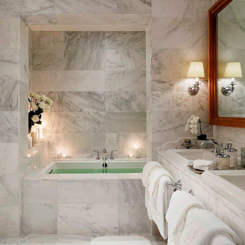Bath Modern Romantic bathroom white property house home mansion plaster plumbing fixture flooring tub bathtub tan