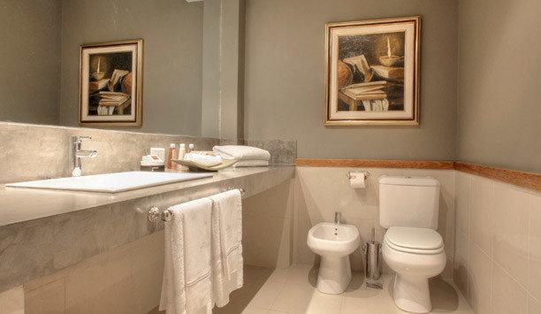 bathroom toilet property sink home plumbing fixture white ceramic Suite tap bidet toilet seat tile bathroom accessory tub bathroom sink Bath bathtub tan
