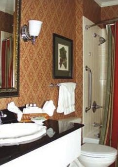 bathroom sink property Suite home cottage plumbing fixture tub bathtub Bath