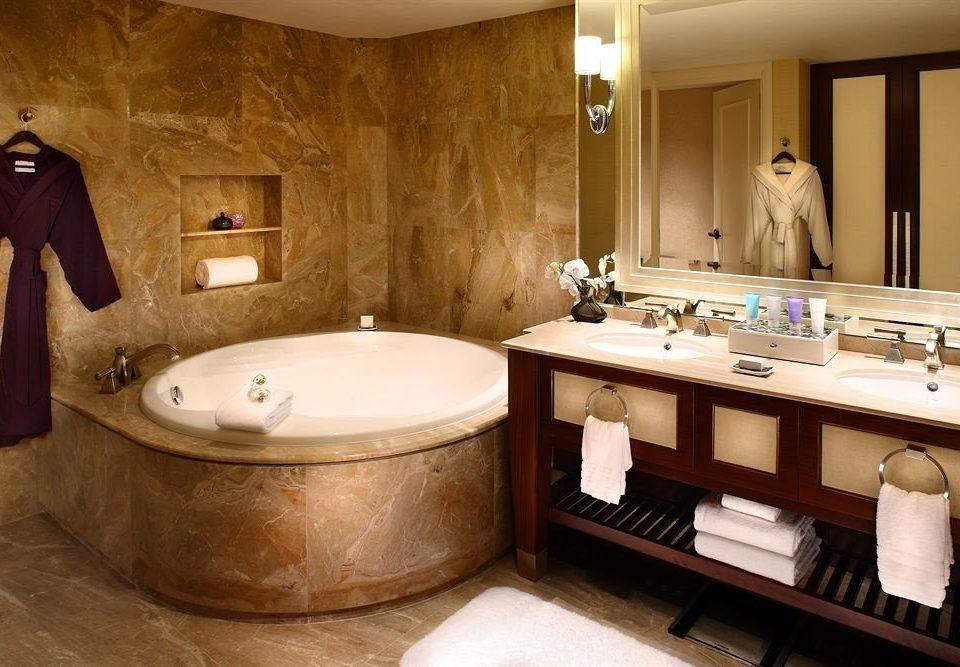 bathroom sink mirror swimming pool home Suite jacuzzi bathtub tub Bath
