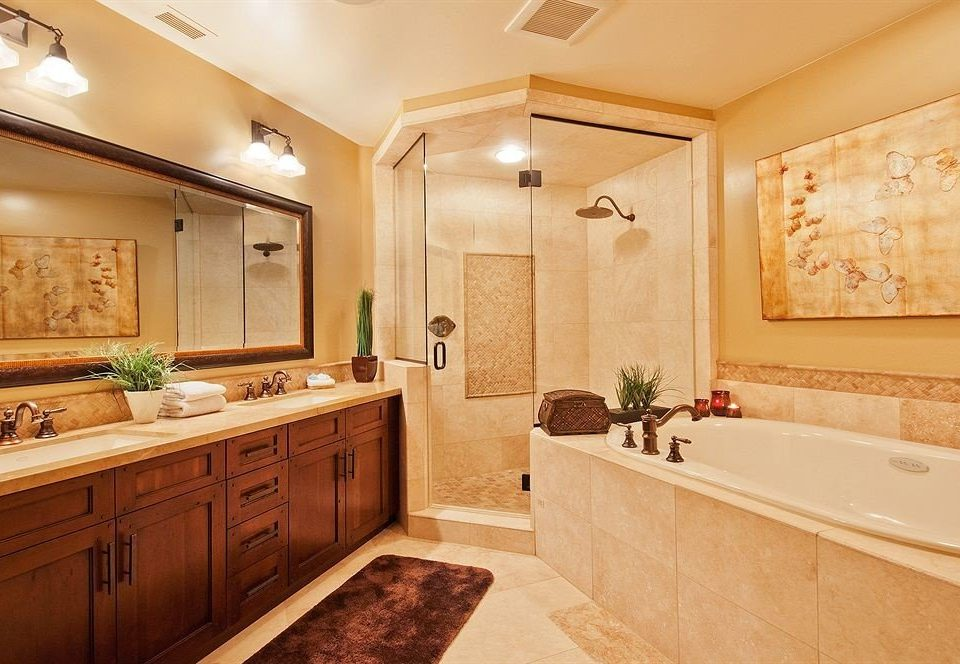 bathroom property sink cuisine classique cabinetry home hardwood Suite tub Bath bathtub