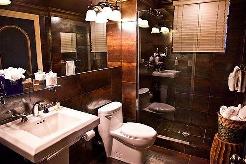 bathroom sink mirror Suite tub Bath