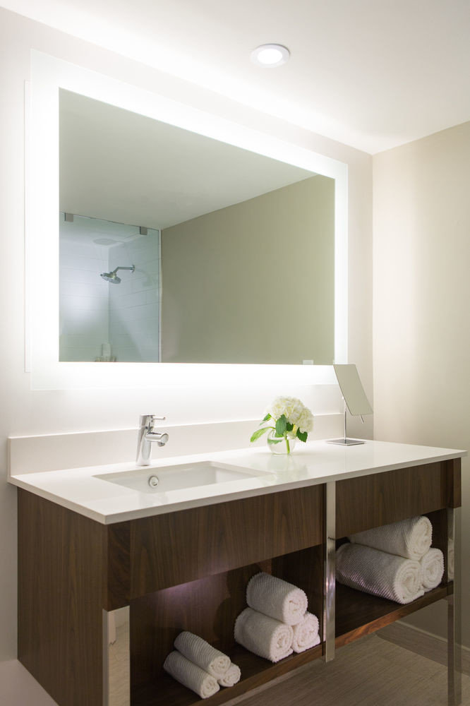 bathroom mirror sink white plumbing fixture bathtub home bathroom cabinet cabinetry