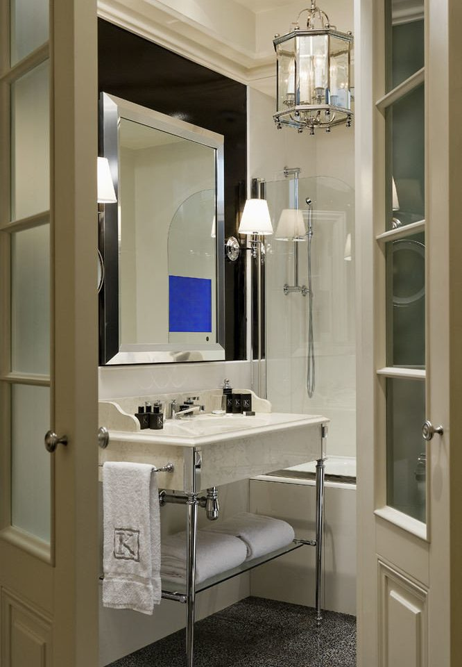 bathroom mirror sink cabinetry home bathroom cabinet laundry room cottage