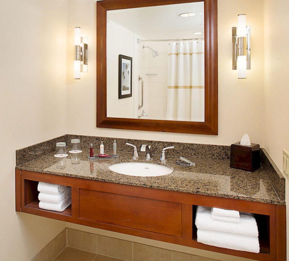 bathroom mirror sink cabinetry countertop cuisine classique plumbing fixture home bathroom cabinet flooring