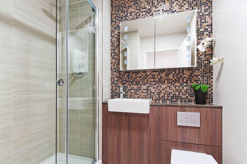 bathroom home flooring cabinetry bathroom cabinet tiled