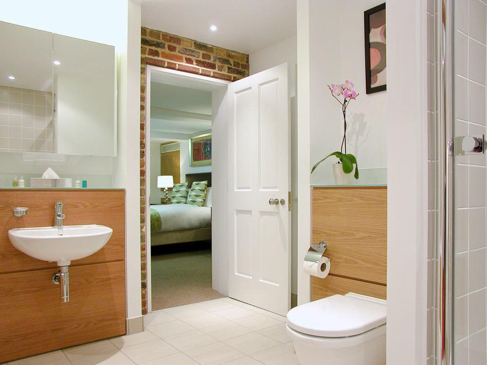 bathroom plumbing fixture bathroom cabinet tiled