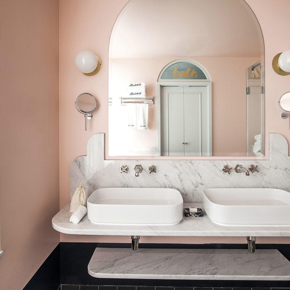 bathroom sink mirror plumbing fixture tap home product design towel bathroom sink product flooring interior designer