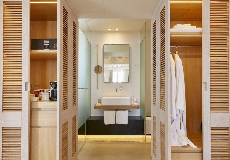 bathroom white home cabinetry door flooring tub bathtub