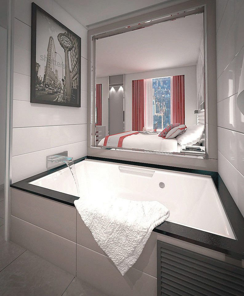 bathroom white property house home bathtub sink plumbing fixture flooring tile tiled