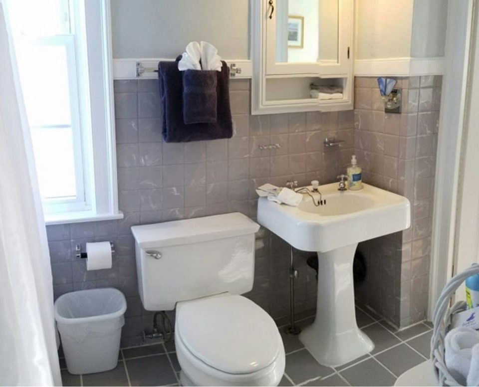bathroom sink property toilet home cottage bidet plumbing fixture tiled